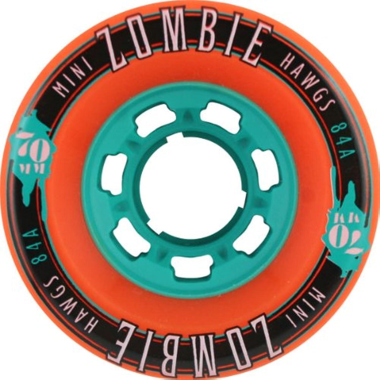 Hawgs Mini Zombie 84a 70mm orange Longboard Wheels (Set Of 4)