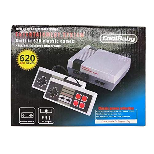 Forart Mini Video Game Console 620 NES Games with 2 Controllers Handheld Game Players
