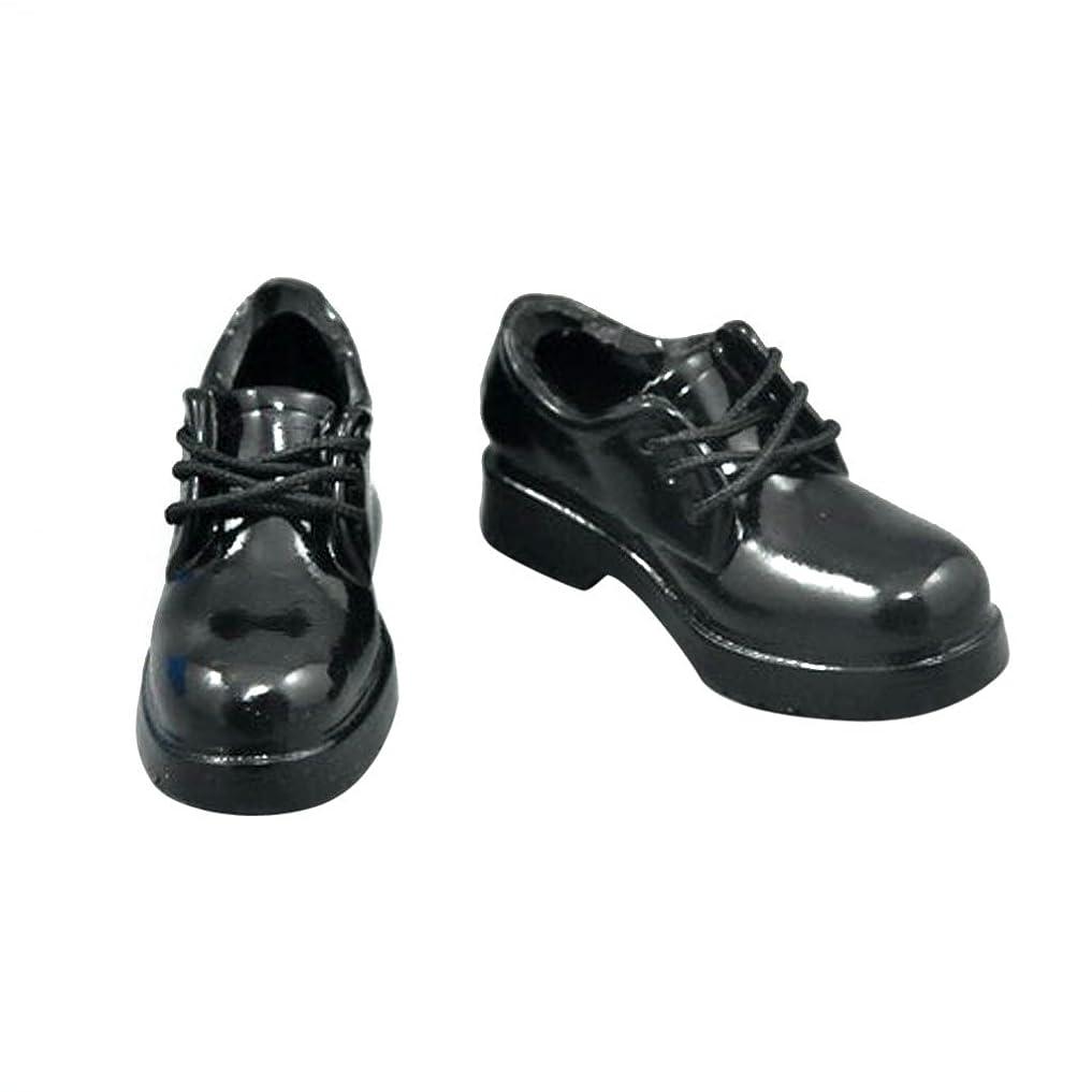 参照略す彼女のBaoblaze 1/6スケール 靴 女性 人形用 レザー シューズ 低ヒール 12インチフィギュア用 ファッション