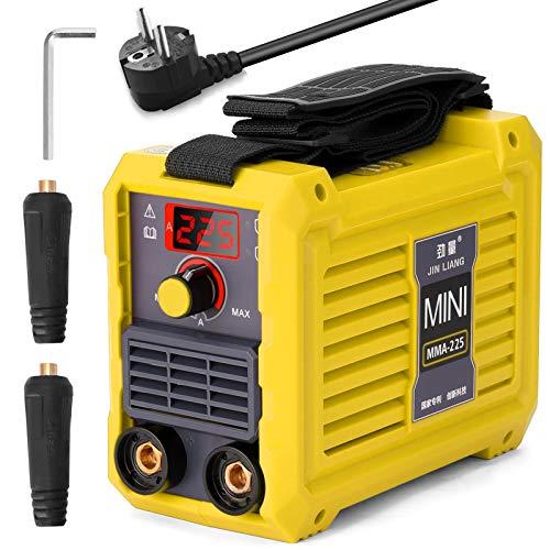 Weytoll MMA225 Soldador Inverter Máquina de Soldadura Eléctrica 20-225A, 220V IGBT(Amarillo)
