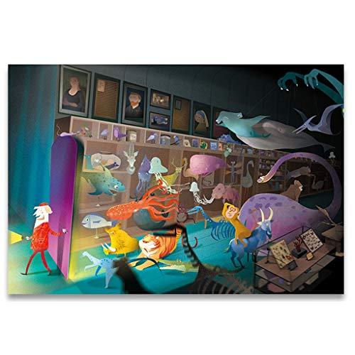 Puzzles Spielzeug DIY Hund Handgemachte handgemachte Kinder 1000 Stücke Lernspielzeug Erwachsenen Dekomprimierung Dekorative Geschenke Brainteaser (Color : D)