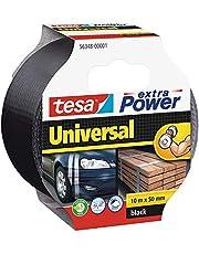 tesa extra Power Universal, 10m x 50mm, Zwart
