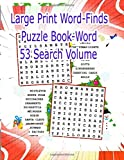 Large Print Word-Finds Puzzle Book-Word Search Volume 53: Mixed Lot of 4 Kappa LARGE PRINT Easy To Read Take-Along Word-Finds Circle-A-Word Word Search Seek Puzzle Books