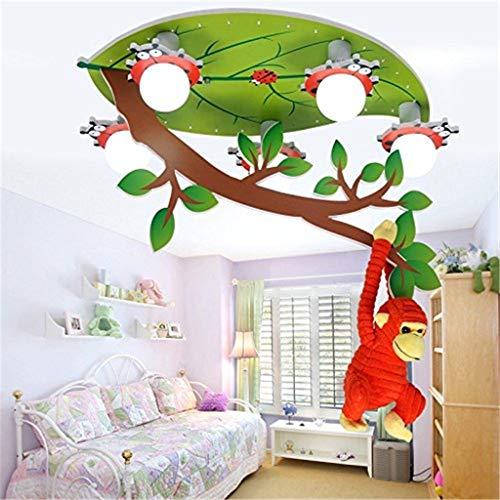 Lámparas de Techo Decorativas de araña de Dibujos Animados Decorativo araña Mono - Ideal for Uso en la habitación de los niños
