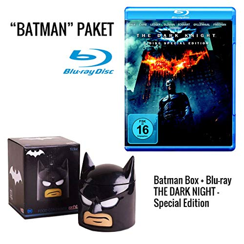 Batman - The Dark Knight Rises Blu-ray + Luchbox Batman-Head
