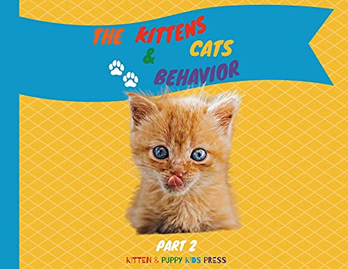 The Kittens and Cats Behavior Part 2: Easily explain your little friends' true needs to kids in a fun way