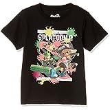 [スプラトゥーン] Tシャツ Splatoon2 スプラトゥーン2 KIDS ガチバトル半袖 22823711 ブラック 140