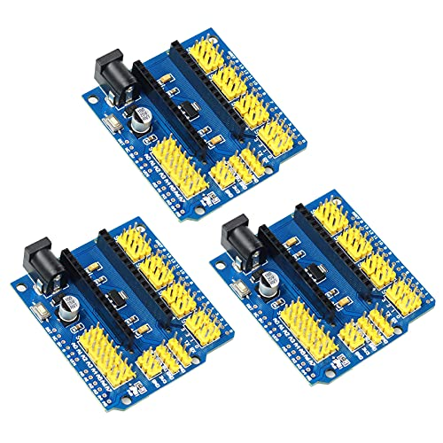 YXPCARS I/O Shield Multifunktion Erweiterungskarte Expansion Board Terminal Adapter für Arduino Nano