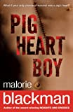 Pig Heart Boy book cover, An operation scar across a chest.