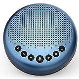 eMeet Konferenzlautsprecher - Luna Lite Bluetooth Speakerphone für 5-10 Personen, USB Freisprecheinrichtung 360° Spracherkennung, für Zoom, Skype, VoIP-Kommunikation PC, Skype for Business usw.