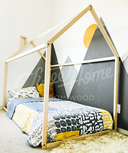 Sweet Home from Wood Lit Montessori pour Les Tout-Petits (120x190cm)