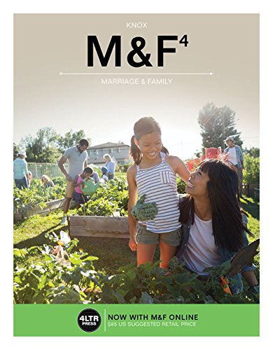 Compare Textbook Prices for M&F with M&F Online, 1 term 6 months Printed Access Card New, Engaging Titles from 4LTR Press 4 Edition ISBN 9781337116961 by Knox, David