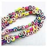 WEIMEIDA JQBB430 - 30 cuentas de 10 mm de color de frutas, flores, arcilla de polímero, espaciador de cuentas sueltas para hacer joyas, collares, pulseras y accesorios SGNTZ (color: 05)