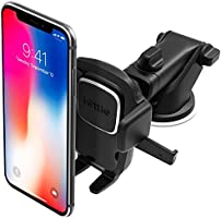 iOttie Easy One Touch 4 Dash & Windshield Car Mount Phone Holder Desk Stand Pad & Mat for iPhone, Samsung, Moto, Huawei,...