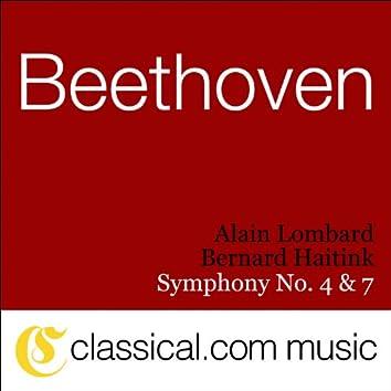Ludwig van Beethoven, Symphony No. 4 In B Flat, Op. 60
