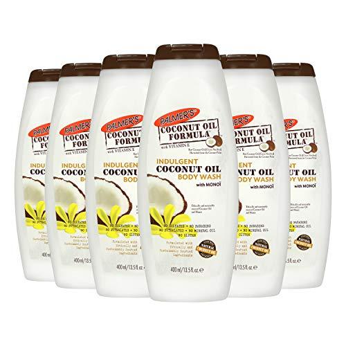 Palmer's Coconut Oil Body Wash With Monoi, 13.5 Fl Oz, 6 Count
