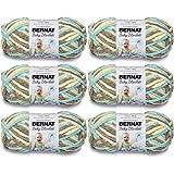 Bernat Baby Blanket Yarn-6/Pk-Beach, 6/Pk, Beach Babe 6 Pack