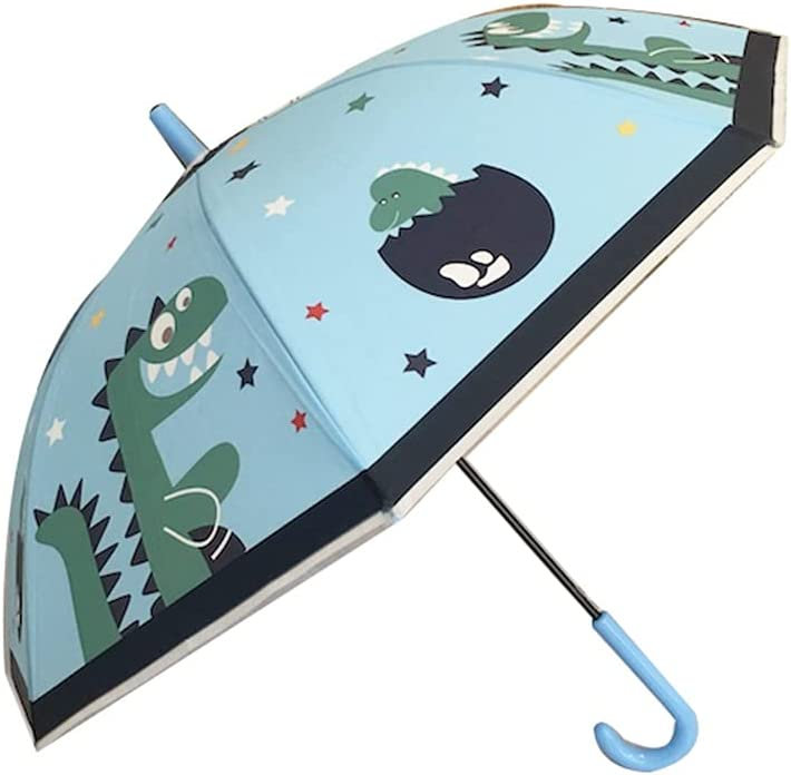 WYH New York Mall Automatic Children's Our shop OFFers the best service Stick Umbrella Sturdy