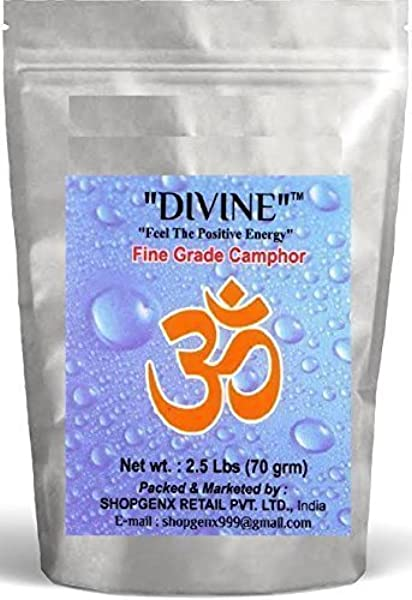 Indian Fancy Divine Puja Pure 70g Refined Camphor Tablets For Holy Spiritual Pooja Ganpati Diwali Rituals