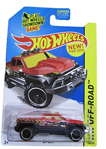 Mattel Hot Wheels - 2014 HW Off-Road 140/250 - HW Hot Trucks - Off-Duty by