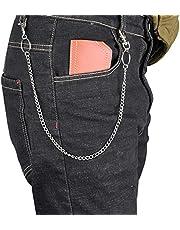 Trendy Enkele/Drie Layer Riemen Punk Hiphop Sleutelhanger Taille Broek Ketting Jeans Lange Metalen Kleding Accessoires Sieraden
