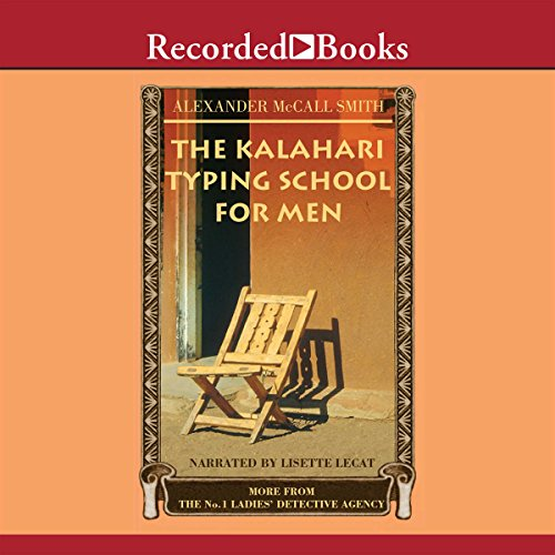 The Kalahari Typing School for Men audiobook cover art