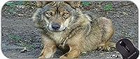 ステッチエッジ野生動物のムースパッド野生の動物の滑り止めのマウスパッド