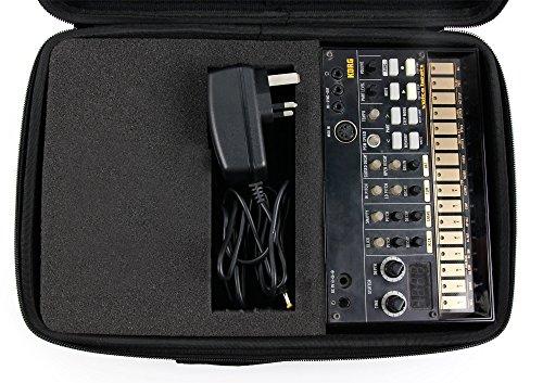 DURAGADGET Mallette de Rangement Personnalisable Rigide pour KORG Volca Bass/Keys/Sample/Sample OK...