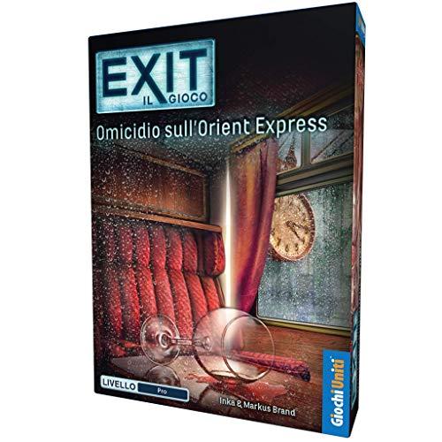 Exit: Omicidio sull'Orient Express - Escape Room da tavolo | Giochi Uniti