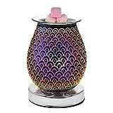 happygirr Lámpara LED de aromaterapia ultrasónica 3D con difusor de aceites esenciales, ultrasilencioso, difusor de aroma, humidificador para la decoración de dormitorios en casa u oficina