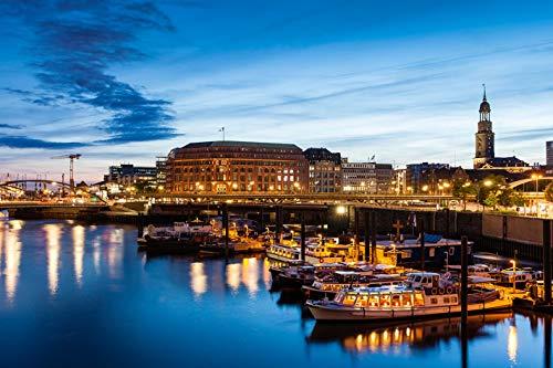 Jochen Schweizer Geschenkgutschein: Erlebnistag: Candle Light Dinner & Hafenlichterfahrt in Hamburg für 2