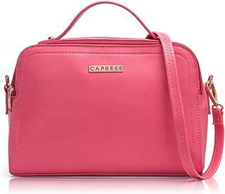 Caprese Vian Women's Cosmetic Bag (Pink)