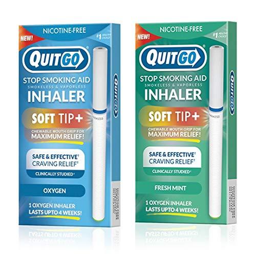 Rauchfreies Sauerstoff-Inhalator, kaubarer Mundgriff, hilft gegen Verlangen des Rauchens zu verhindern, unterstützt das Rauchen zu stillen, beruhigende Zappellinderung, Nikotinfrei
