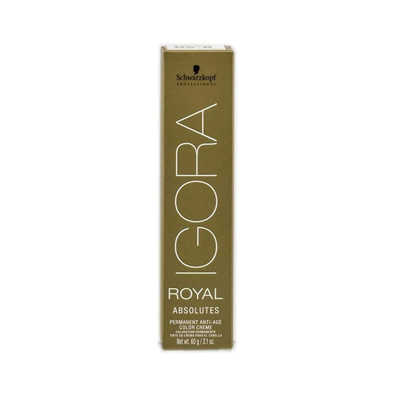 Schwarzkopf Professional Igora Hair Color, 7-12, Medium Ash Smokey Blonde, 2.1 Ounce