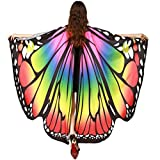 ◆Ali delle Farfalle Scialle sciarpe Il suo disegno speciale vi farà apparire unica ◆Ali delle Farfalle Scialle sciarpe Design speciale, è una buona decorazione per una festa ◆Ali delle Farfalle Scialle sciarpe È un buon regalo per l'amante, la famigl...