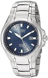 Citizen Men's BM7170-53L Titanium Eco-Drive Watch Reviews
