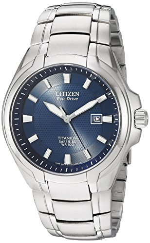 Citizen Watches Men's BM7170-53L Eco-Drive Titanium Watch