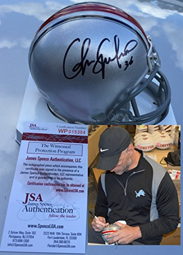 Chris Spielman Signed / Autographed Ohio State Buckeyes Mini Football Helmet - JSA