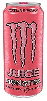 Monster Energy Pipeline Punch 16 fl oz  pack of 4