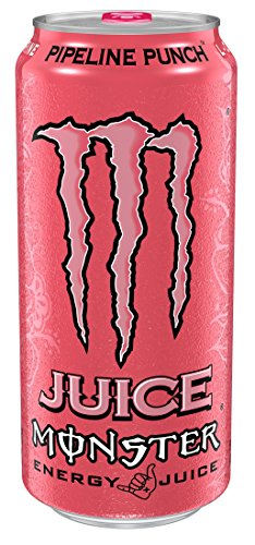 Monster Energy, Pipeline Punch, 16 fl oz (pack of 4)