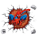 Kibi Spiderman Adesivo Muro Spiderman Adesivo da Parete Spiderman Adesivi Murali Spiderman Stickers Muro Spiderman Stickers Muro Uomo Ragno