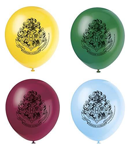 ILS I LOVE SHOPPING Set di 8 Palloncini in Lattice Harry Potter per Feste e Compleanni Multicolore (Harry Potter)