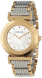 Versace Women's P5Q80D499 S089 Vanity Rose-Gold Ion-Plated Stainless Steel Watch Review and For Sale and review image