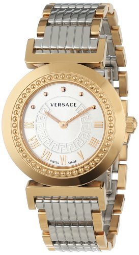Versace Women's P5Q80D499 S089 Vanity Rose-Gold Ion-Plated Stainless Steel Watch
