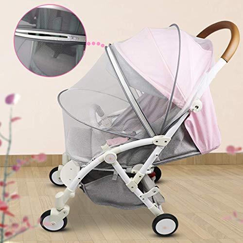 Vektenxi Universelles Moskito/Insektennetz für Kinderwagen, Kinderwagen, Buggy, Tragetasche und Reisebett Langlebig und nützlich