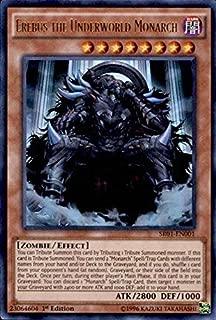 Yu-Gi-Oh! - Erebus the Underworld Monarch (SR01-EN001) - Structure Deck: Emperor of Darkness - Edition - Ultra Rare