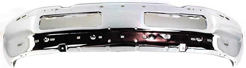 Bumper Compatible with 1994-2001 Dodge Ram 1500 Face Bar Chrome (99-02)