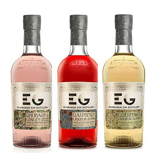 Photo of Edinburgh Gin Liqueur Trio (3 x 50cl)