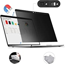 for MacBook Pro 15 inch Privacy Screen Protector Filter, Magnetic Installation, Webcam..