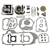 GOOFIT 100cc Big Bore Kit Performance GY6 50cc 139QMB Pièces Racing Scooter 50mm...